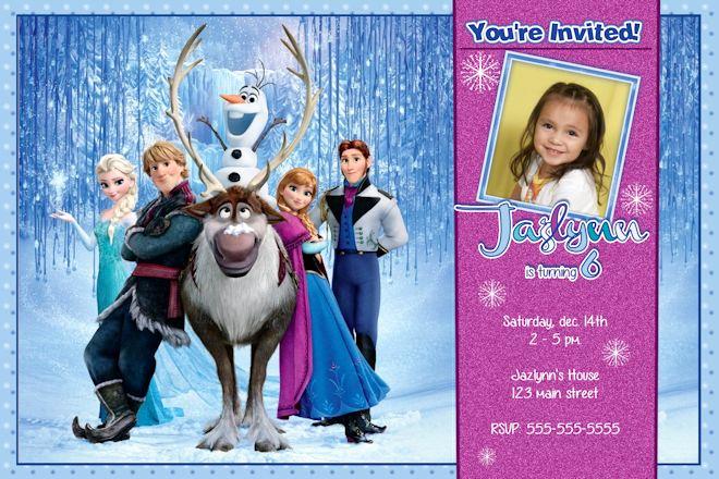 Frozen Birthday Invitation Templates Unique Frozen Birthday Invitation Disney S Frozen Birthday
