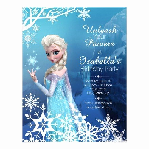 Frozen Birthday Party Invitation Template Beautiful Birthday Party Invitations Templates