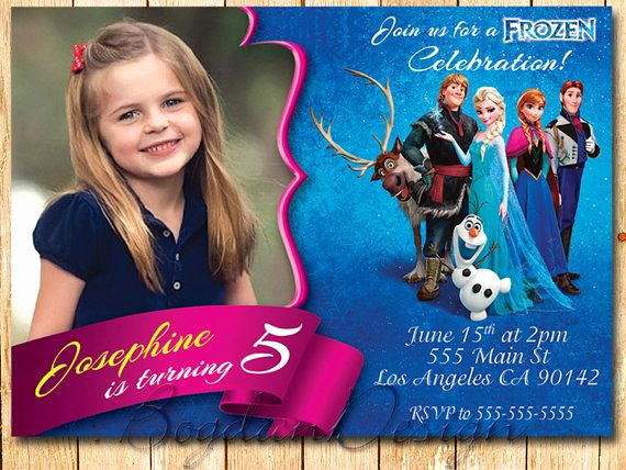 Frozen Birthday Party Invitation Template Lovely 25 Best Ideas About Free Frozen Invitations On Pinterest