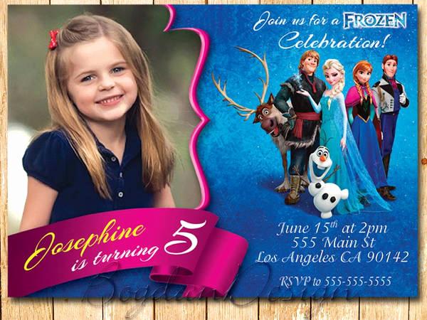 Frozen Invitation Printable Free Inspirational 13 Frozen Invitation Templates Word Psd Ai