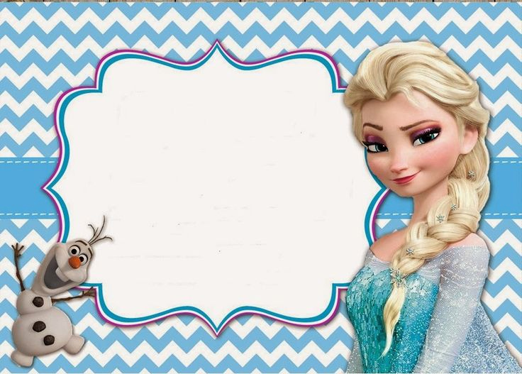 Frozen Invitation Printable Free Inspirational 17 Best Images About Frozen Party On Pinterest