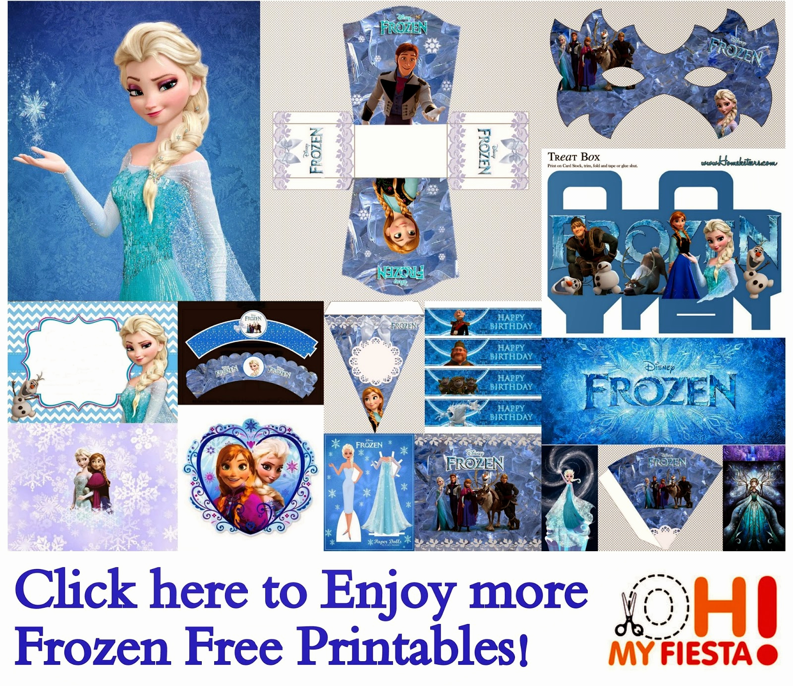 Frozen Invitation Printable Free New Frozen Free Printable Cards or Party Invitations