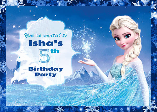 Frozen Invitation Template Free Download Best Of 59 Party Invitations Download Downloadcloud