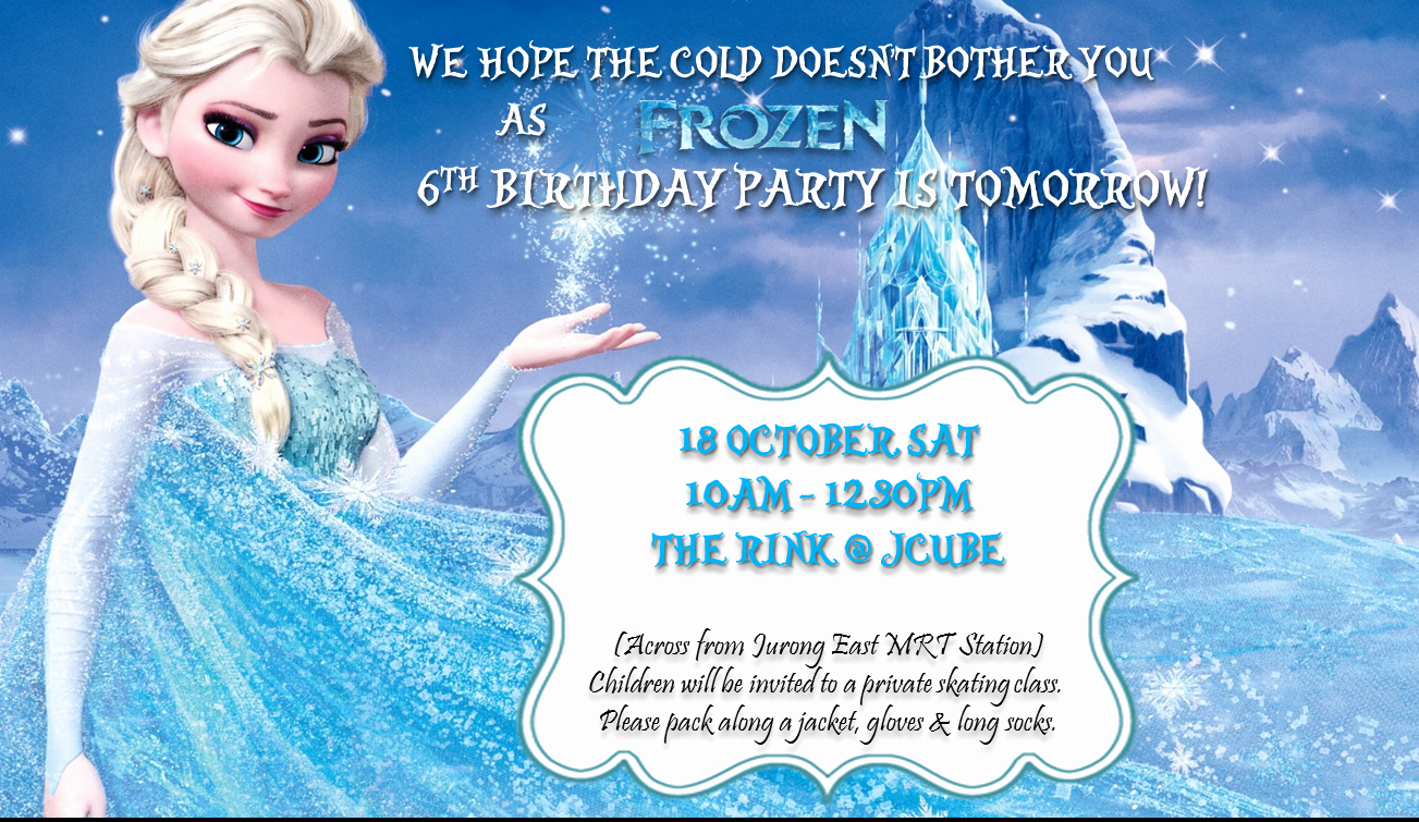Frozen Invitation Template Free Download Elegant Beanie N Us Diy Frozen Party