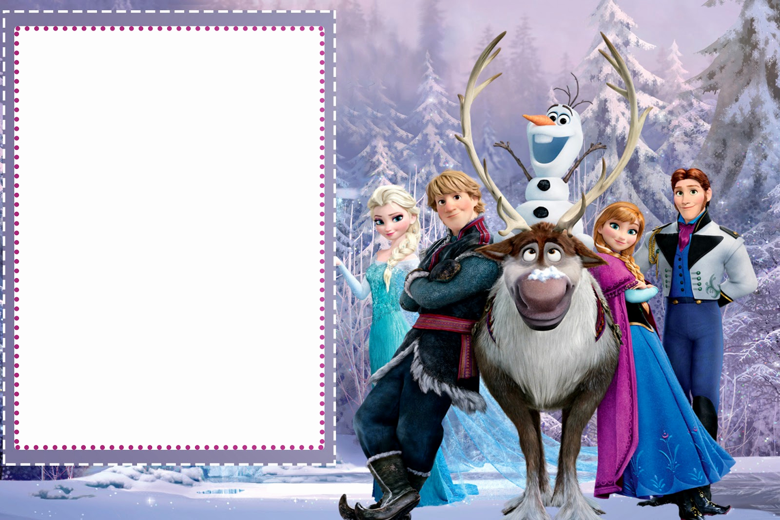 Frozen Invitation Template Free Download Inspirational Frozen Free Printable Cards or Party Invitations Oh My