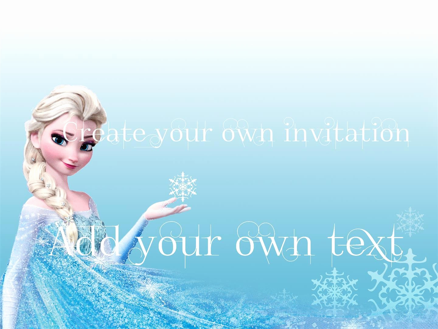 Frozen Invitation Template Free Download Luxury Free Download Frozen Invitations