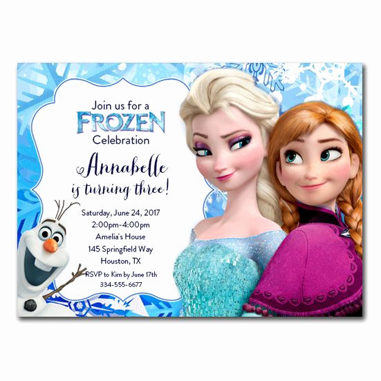 Frozen Invitation Template Free Download New Best 25 Free Frozen Invitations Ideas On Pinterest
