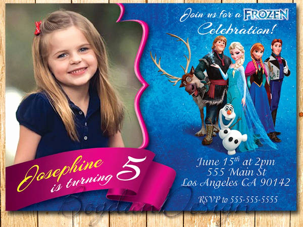 Frozen Invitation Template Free Download Unique 13 Frozen Invitation Templates Word Psd Ai