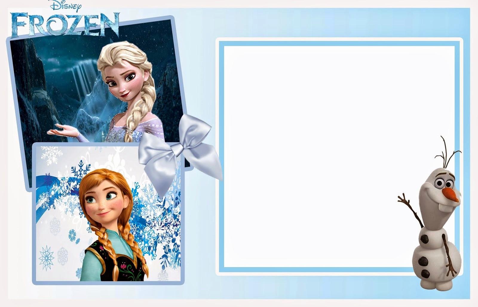 Frozen Invitation Template Free Lovely 24 Heartwarming Frozen Birthday Invitations