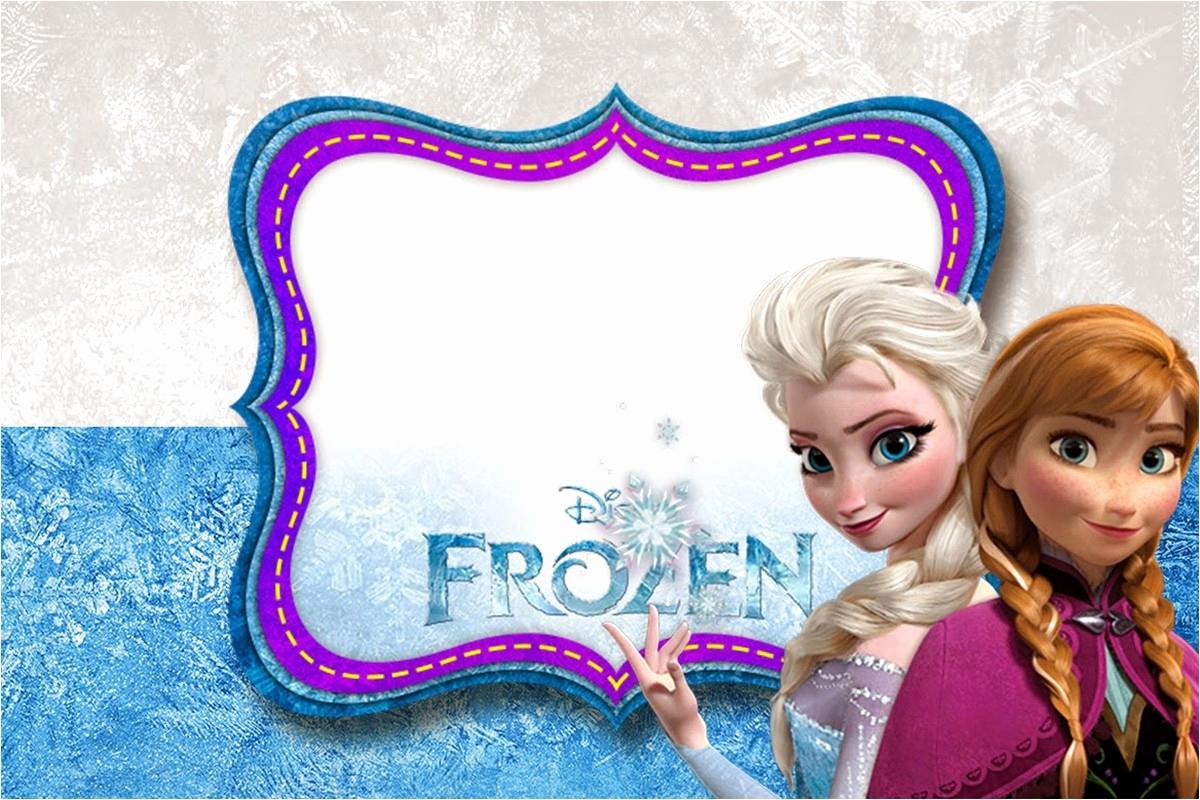 Frozen Invitation Template Free Unique Frozen Free Printable Invitation Templates
