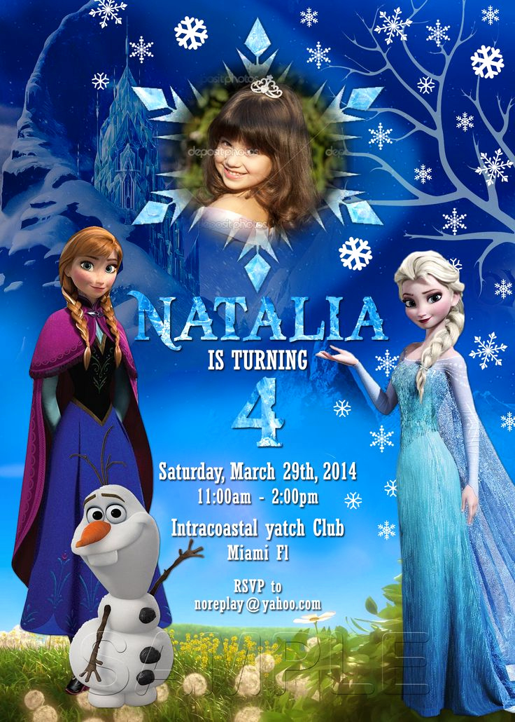 Frozen Invitation Templates Free Unique 25 Best Ideas About Frozen Invitations On Pinterest