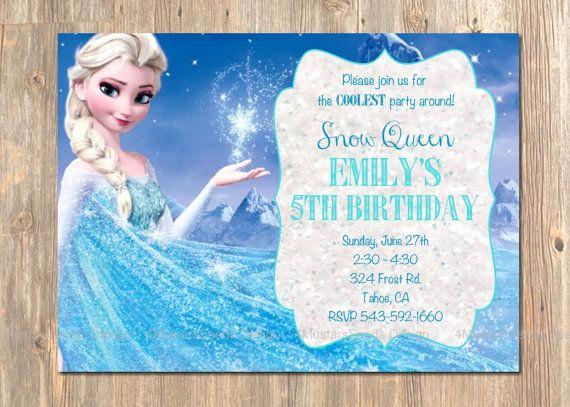 Frozen Party Invitation Template Elegant 77 Best Disney S Frozen Birthday Party From 4mustardseeds