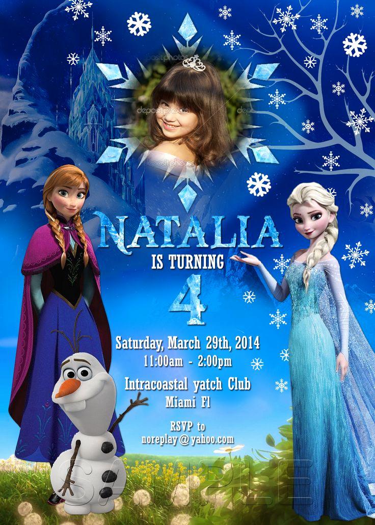 Frozen Party Invitation Template Fresh Best 25 Free Frozen Invitations Ideas On Pinterest
