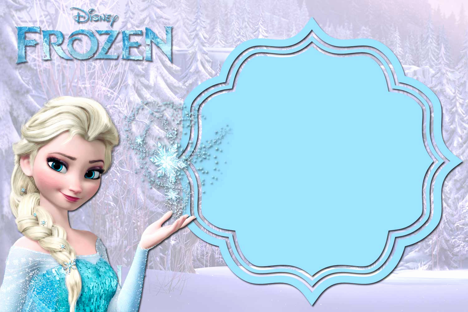 Frozen Party Invitation Template Inspirational 24 Heartwarming Frozen Birthday Invitations