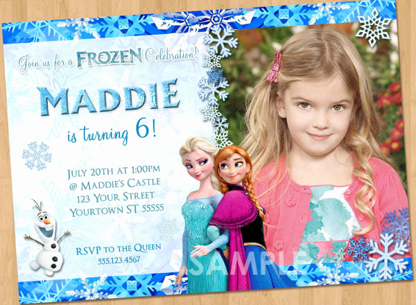 Frozen Party Invitation Templates Lovely 13 Frozen Invitation Templates Word Psd Ai
