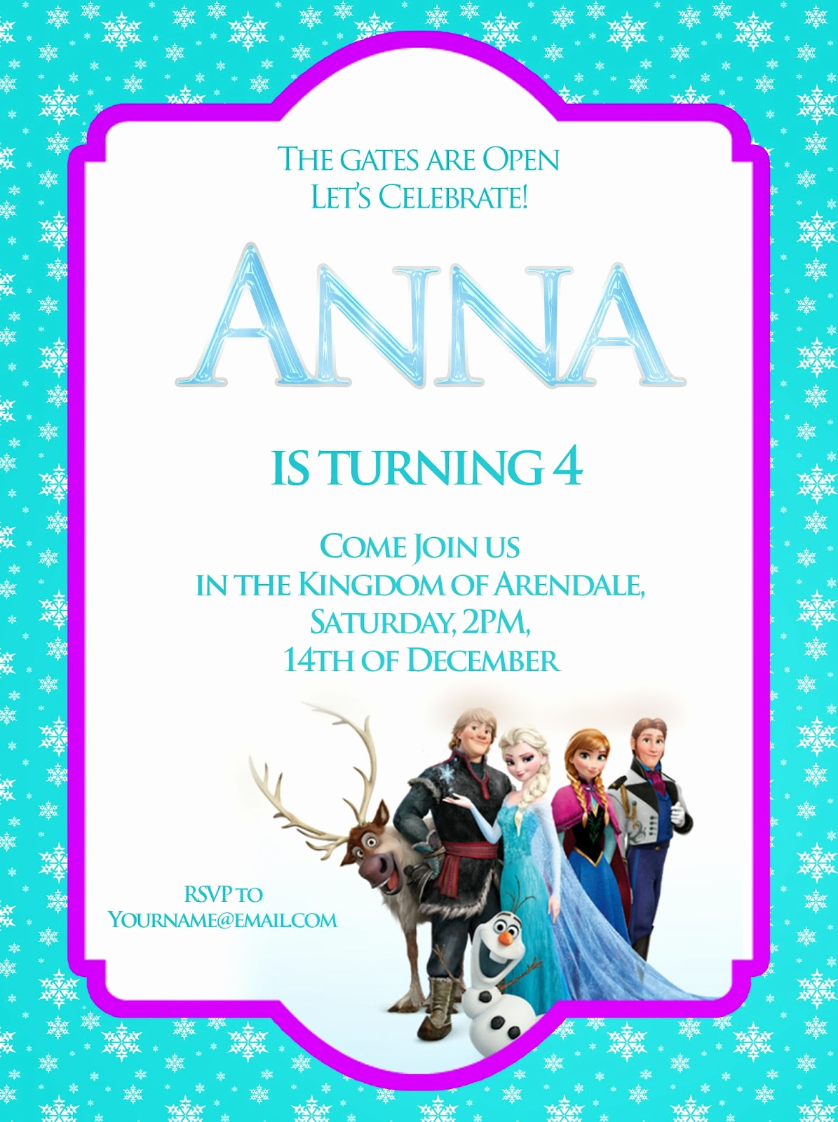 Frozen Party Invitation Templates New Frozen Free Printable Invitations Templates