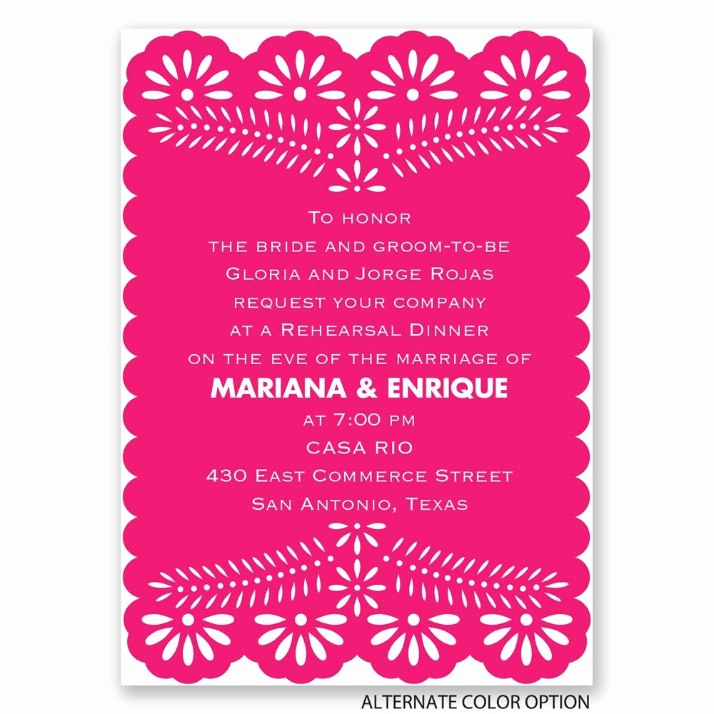 Fun Rehearsal Dinner Invitation Wording Awesome Fun and Festive Mini Rehearsal Dinner Invitation