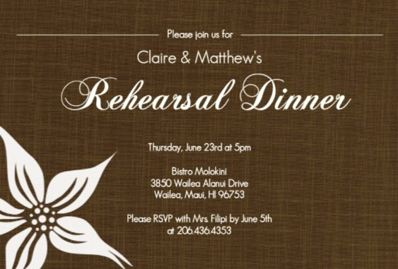 Fun Rehearsal Dinner Invitation Wording Beautiful Rehearsal Dinner Invitation Wording Ideas From Purpletrail