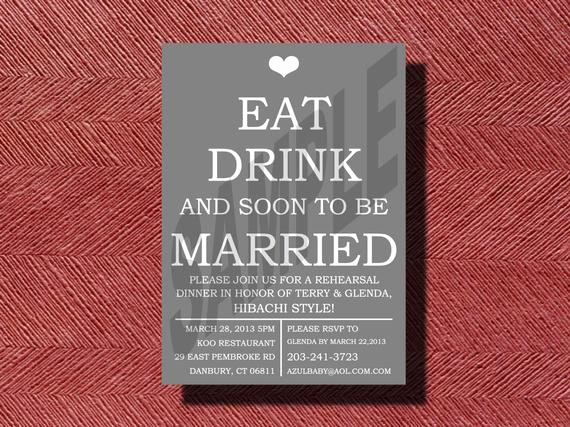 Fun Rehearsal Dinner Invitation Wording Elegant Fun Rehearsal Dinner Invitation Diy