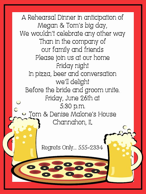Fun Rehearsal Dinner Invitation Wording Lovely Creative Rehearsal Dinner Invitation Wording