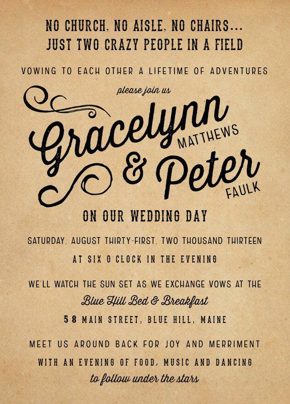 Fun Wedding Invitation Wording Elegant Best 25 Vintage Wedding Invitations Ideas On Pinterest
