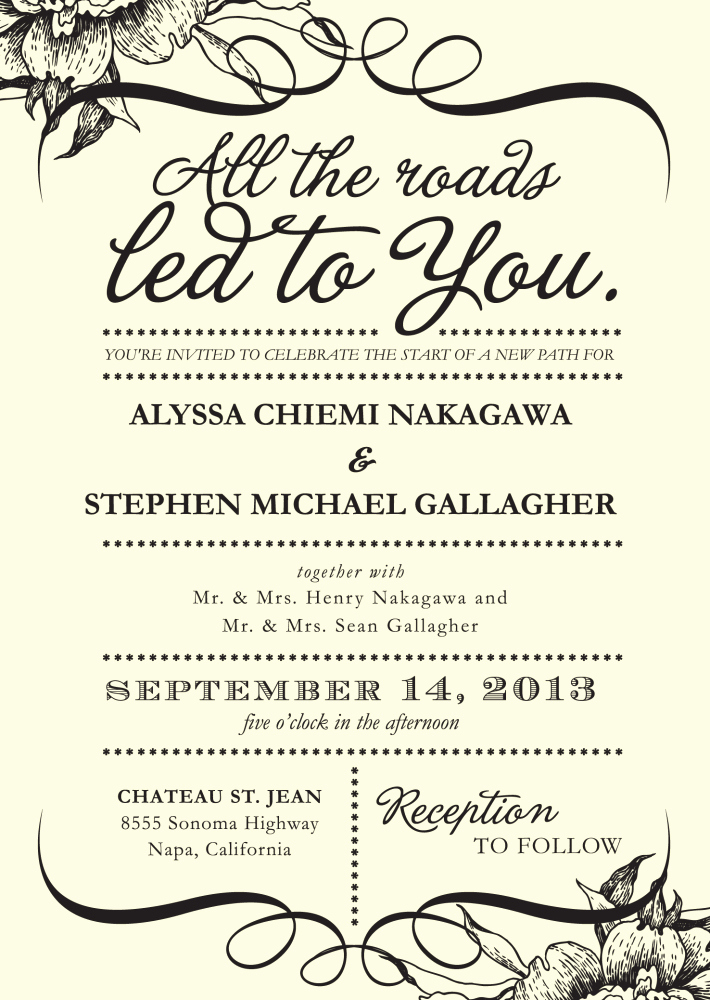 Fun Wedding Invitation Wording Inspirational 4 Words that Could Simplify Your Wedding Invitations