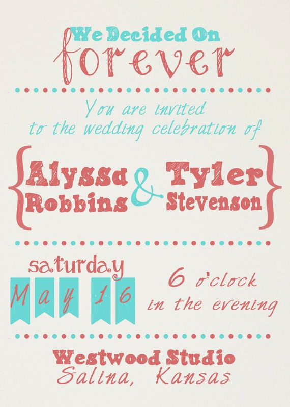 Fun Wedding Invitation Wording Inspirational top 25 Best Casual Wedding Invitations Ideas On Pinterest