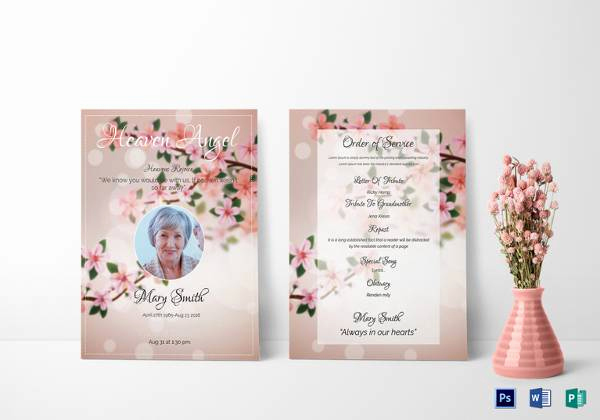 Funeral Invitation Template Free Luxury Sample Funeral Invitation Template 11 Documents In Word