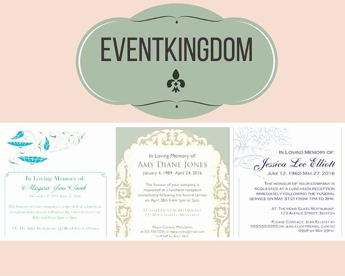 Funeral Reception Invitation Wording Elegant 30 Best Funeral Reception Invitations Images On Pinterest