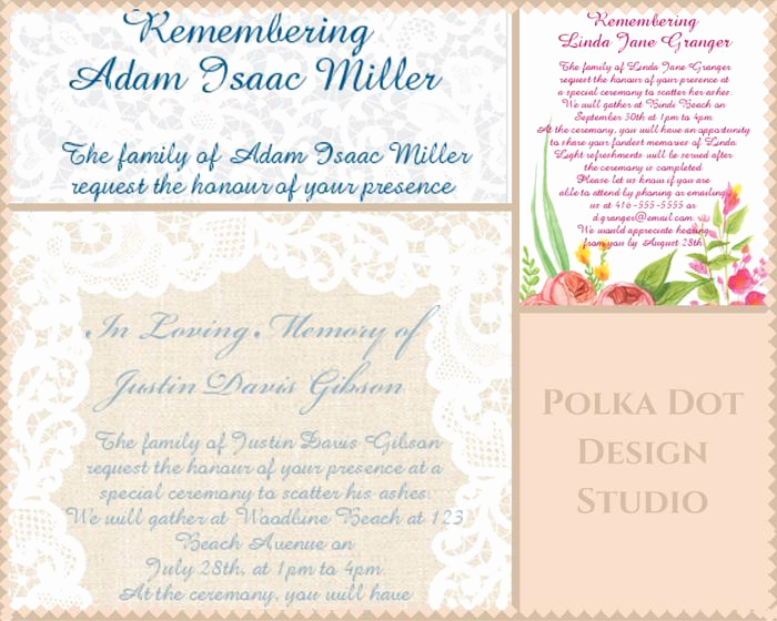 Funeral Reception Invitation Wording Lovely 39 Best Funeral Reception Invitations