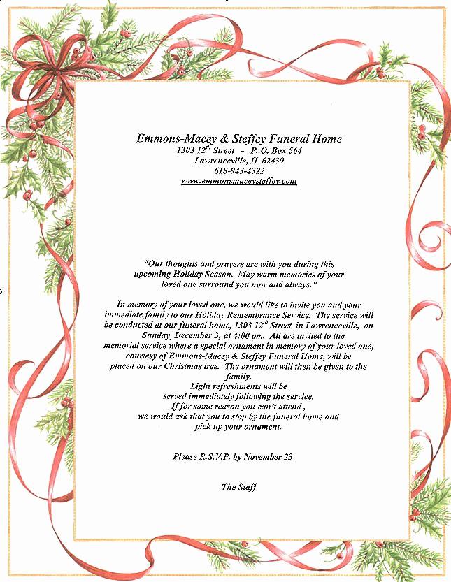 Funeral Reception Invitation Wording Unique Memorial Service Programs Sample