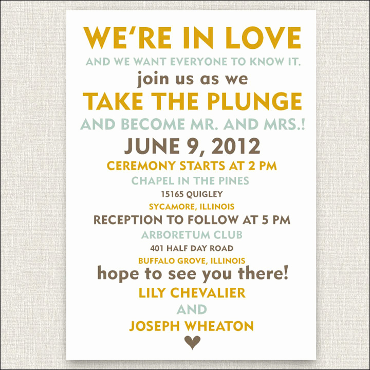 Funniest Wedding Invitation Wording Awesome 10 Funny and Inspiring Informal Wedding Invitation Wordings