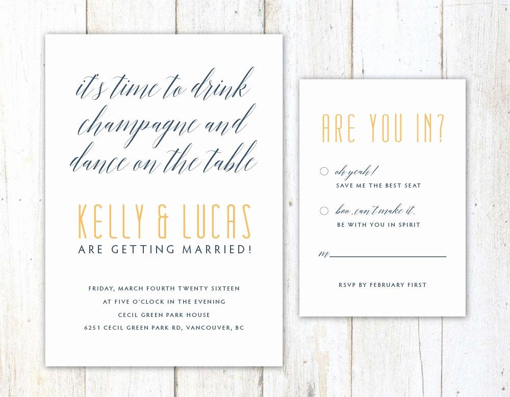 Funniest Wedding Invitation Wording New Funny Wedding Invitation Unique Wedding Invitation Witty