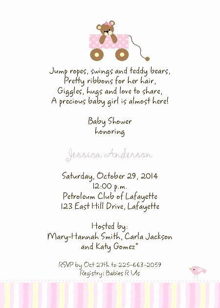 Funny Baby Shower Invitation Wording Inspirational Baby Shower Invitation Wording