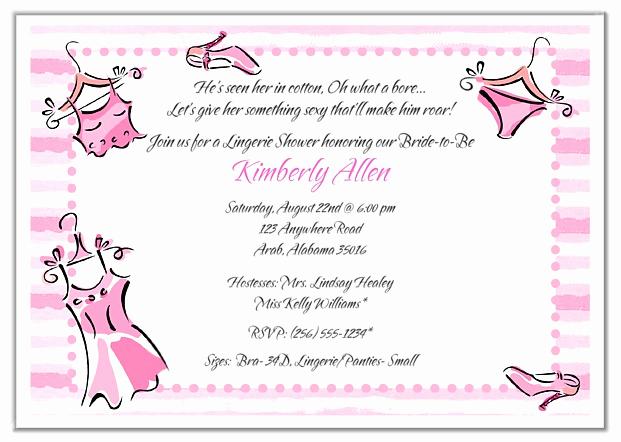 Funny Bachelorette Party Invitation Wording Beautiful Bridal Shower Lingerie Bachelorette Party Invitations