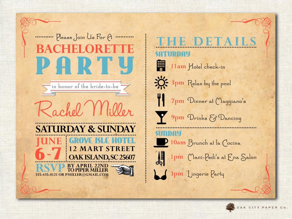 Funny Bachelorette Party Invitation Wording Inspirational Bachelorette Invitation Bachelorette Party Invitation