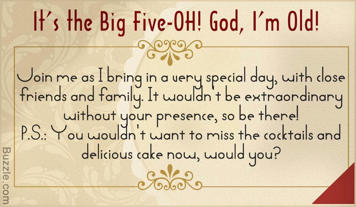 Funny Birthday Invitation Quotes Luxury Inspiring 50th Birthday Party Invitation Wordings to