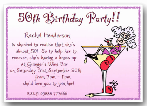 Funny Birthday Invitation Quotes New 40th 50th 60th 70th 80th 90th Personalised Funny Birthday