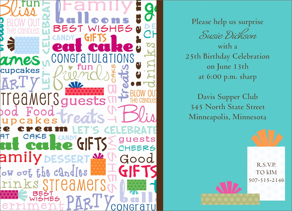 Funny Birthday Invitation Wording Inspirational Fun Birthday Language Birthday Invitations From Cardsdirect