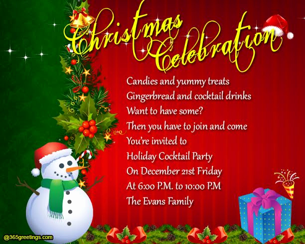 Funny Christmas Party Invitation Wording Beautiful Christmas Party Invitation Wording 365greetings