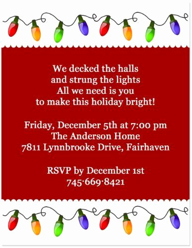 Funny Christmas Party Invitation Wording Inspirational Best 25 Open House Invitation Ideas On Pinterest