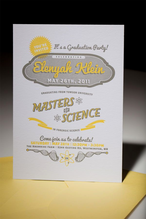 Funny Graduation Invitation Sayings Elegant Elenyah Klein S Graduation Party Invite Was so Much Cooler