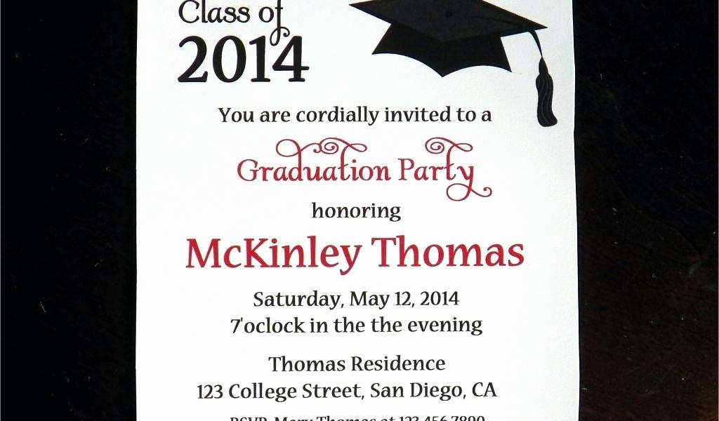 Funny Graduation Invitation Sayings Fresh College Graduation Party Invitation Wording