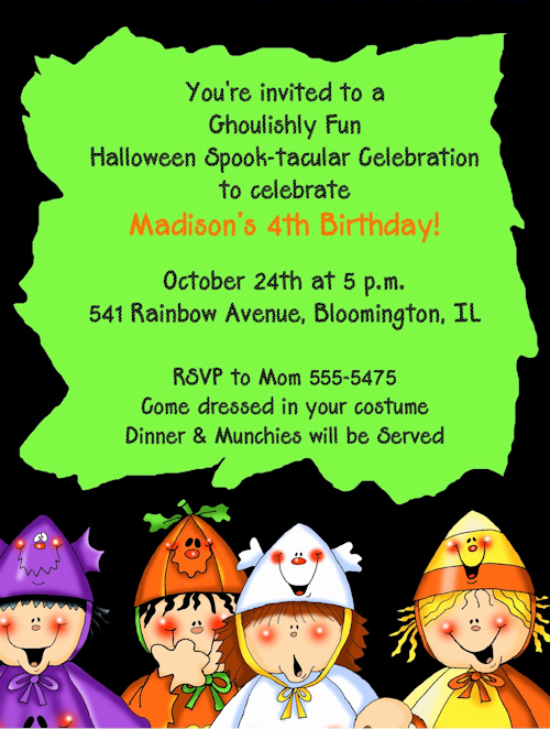Funny Halloween Invitation Wording Awesome Halloween Costume Party Invitation Wording – Festival