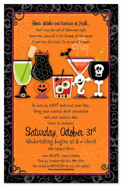 Funny Halloween Invitation Wording Best Of Halloween Invitation Wording Adults Ly – Festival
