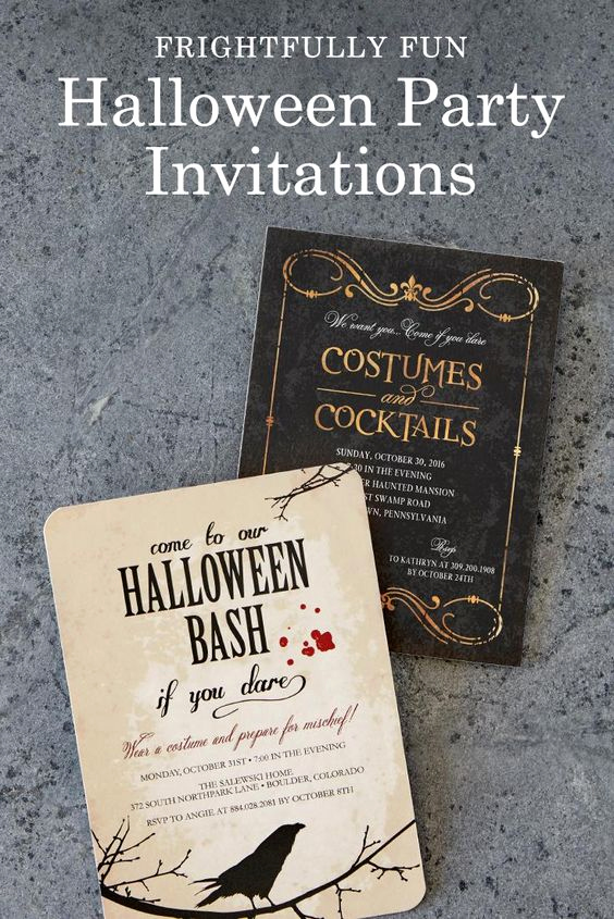 Funny Halloween Invitation Wording Inspirational Throw A Halloween Party so Fun It S Scary Shop