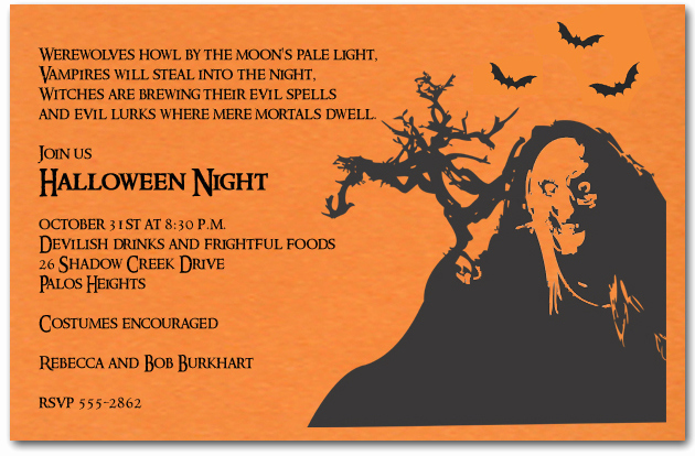 Funny Halloween Invitation Wording Lovely Halloween Invitation Wording Samples – Festival Collections