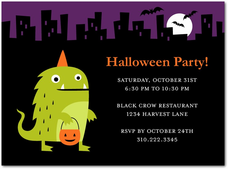 Funny Halloween Invitation Wording Luxury T Party