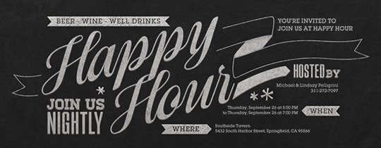 Funny Happy Hour Invitation Wording Awesome Daylight Saving Cocktail Double Hour Evite