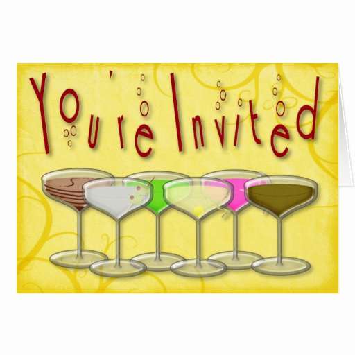 Funny Happy Hour Invitation Wording Unique Cards Design for Co Workers